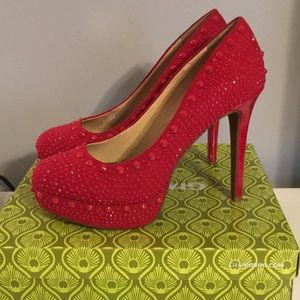 Gianni Bini red heels